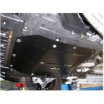 Защита Chevrolet Orlando 2013- V- все D двигатель, КПП, радиатор - Премиум ZiPoFlex - Kolchuga