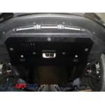 Защита MG-6 2012- V-1,8 двигатель, КПП, радиатор - Премиум ZiPoFlex - Kolchuga