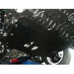 Защита Toyota Camry XV50 2011- V- все двигатель и КПП - Премиум ZiPoFlex - Kolchuga