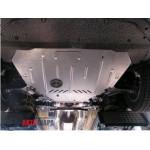 Защита Ford Mondeo 2007-2014 V- все двигатель, КПП, радиатор - Премиум ZiPoFlex - Kolchuga