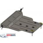 Защита Chery Tiggo 2011- V- все двигатель, КПП, радиатор - Премиум ZiPoFlex - Kolchuga