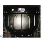 Защита BYD F6 2011- V 2,0 двигатель, КПП, радиатор - Премиум ZiPoFlex - Kolchuga