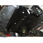 Защита Mazda 3 2009-2013 V- все двигатель, КПП, радиатор - Премиум ZiPoFlex - Kolchuga