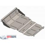 Защита Mitsubishi L200 2006-2014 V- все радиатор/двигатель - Премиум ZiPoFlex - Kolchuga
