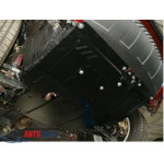 Защита Lifan Х60 2011- V-1.8 двигатель, КПП, радиатор - Премиум ZiPoFlex - Kolchuga