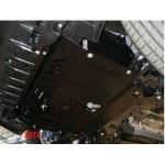 Защита Hyundai I-30 2012-2015 V- все двигатель, КПП, радиатор - Премиум ZiPoFlex - Kolchuga