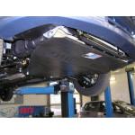 Защита Chevrolet Aveo 2002-2012 V- все двигатель, КПП, радиатор - Премиум ZiPoFlex - Kolchuga