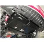 Защита Hyundai I-30 2012-2015 V- все D; двигатель, КПП, радиатор - Премиум ZiPoFlex - Kolchuga