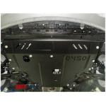 Защита Hyundai I-20 2012-2015 V- все двигатель, КПП, радиатор - Премиум ZiPoFlex - Kolchuga