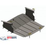 Защита Renault Master 1998-2010 V-3,0 DCI з кондиціонером двигатель, КПП, радиатор - Премиум ZiPoFlex - Kolchuga