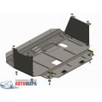Защита Kia Cerato III 2013- V-1,6; 2,0 двигатель, КПП - Премиум ZiPoFlex - Kolchuga