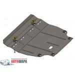 Защита Toyota RAV 4 IV 2013- V-2,0і; 2,2 D двигатель, КПП - Премиум ZiPoFlex - Kolchuga