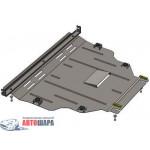 Защита Ford Kuga EcoBoost 2013- V- все двигатель, КПП, радиатор - Премиум ZiPoFlex - Kolchuga