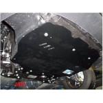 Защита Volkswagen Caddy GP 2011- V- все двигатель, КПП, радиатор - Премиум ZiPoFlex - Kolchuga