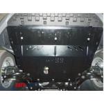 Защита Skoda Octavia III A7 2013- V- всi двигатель, КПП, радиатор - Премиум ZiPoFlex - Kolchuga