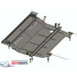 Защита Citroen C-Elysee 2013- V-1,6HDI двигатель, КПП, радиатор - Премиум ZiPoFlex - Kolchuga