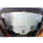 Защита Renault Master 2010- V- все двигатель, КПП, радиатор - Премиум ZiPoFlex - Kolchuga