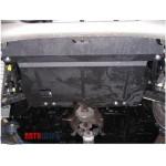 Защита Daewoo Matiz 2005- V- все двигатель, КПП, радиатор - Премиум ZiPoFlex - Kolchuga