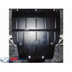 Защита Mercedes-Benz W 176 А 180 2013- V-2,0 CDI двигатель, КПП, радиатор - Премиум ZiPoFlex - Kolchuga
