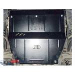 Защита Peugeot 407 2004-2010 V- все двигатель, КПП, радиатор - Премиум ZiPoFlex - Kolchuga