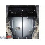 Защита Lexus GS 300 2005-2012 V-3,0; 3,5; двигатель, КПП, радиатор - Премиум ZiPoFlex - Kolchuga