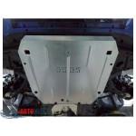 Защита Honda Civic IX 5D хетчбэк 2012- V-1,4; 1,8 двигатель, КПП - Премиум ZiPoFlex - Kolchuga