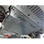 Защита Ford Mondeo 2015- V- все двигатель, КПП, радиатор - Премиум ZiPoFlex - Kolchuga