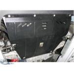 Защита Jeep Cherokee KL 2013- V-2,0CRDI двигатель, КПП, радиатор, - Премиум ZiPoFlex - Kolchuga