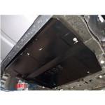 Защита Range Rover Discovery Sport 2014- V-2,2D двигатель, КПП - Премиум ZiPoFlex - Kolchuga