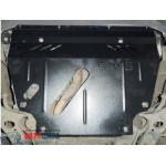 Защита Toyota RAV 4 III LWB 2005-2012 V-2,4i двигатель, КПП, радиатор - Премиум ZiPoFlex - Kolchuga