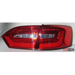 Volkswagen Jetta Mk6 оптика задняя светодиодная LED красная V2 - 2010 - JunYan