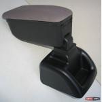 Ford Focus 2 - подлокотник Botec серый текстильный - 2005