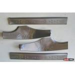 Honda Accord 9 накладки на пороги дверных проемов верхние -
