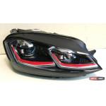Volkswagen Golf 7 оптика передняя  альтернативная LD стиль GTI 7.5 - JunYan