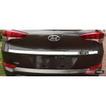 Hyundai Tucson TL 2015 хром накладка на крышку багажника с лого - ASP
