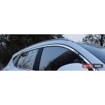 Hyundai Tucson TL 2015 накладки хром молдинги окон верхние V1 - ASP