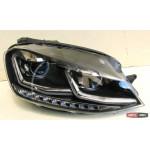 Volkswagen Golf 7 оптика передняя альтернативная TLZ стиль 7.5 - JunYan