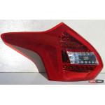 Ford Focus 3 оптика задняя светодиодная красная LED - 2012 - JunYan