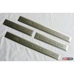 SsangYong Korando накладки защитные на пороги дверных проемов - 2014