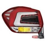 Subaru XV / Crosstrek оптика задня світлодіодна LED червоний хром - 2011