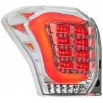 """""""Subaru Forester SJ оптика задня альтернативна, ліхтарі тюнінг діодні хром / LED taillights chrome - 2013"""""""