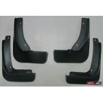 Skoda Rapid Spaceback брызговики ASP колесных арок передние и задние полиуретановые - 2013