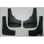 Mitsubishi Outlander XL брызговики колесных арок ASP передние и задние полиуретановые с порогами - 2009