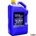 Моторное авто масло Royal Purple API 0w-20 фасовка 4.73л /5 кварт / Royal Purple API motor oil 0W-20 5qt -