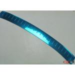 Skoda Rapid накладка защитная на задний бампер - 2013
