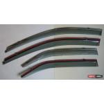 Toyota Camry V50   ветровики дефлекторы окон  ASP с молдингом нержавеющей стали / sunvisors - 2012