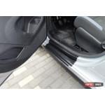 Citroen Berlingo 2008+ / Peugeot Partner 2008+ накладки дверных проемов защитные полиуретановая - 2008