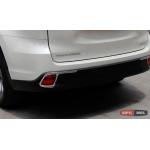 Toyota Highlander XU50 2014 накладка хром на противотуманные фонари - 2015