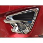Mazda CX-5 хром накладки на противотуманные фары - 2015