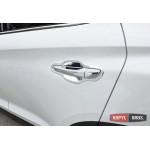 Hyundai Tucson TL 2015 накладки хром под дверные ручки - 2015